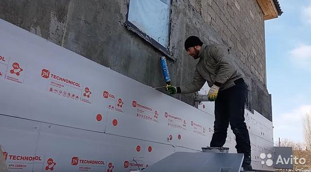 Как крепить пеноплекс к стене: все способы, технология монтажа для бетонной, кирпичной и других поверхностей
