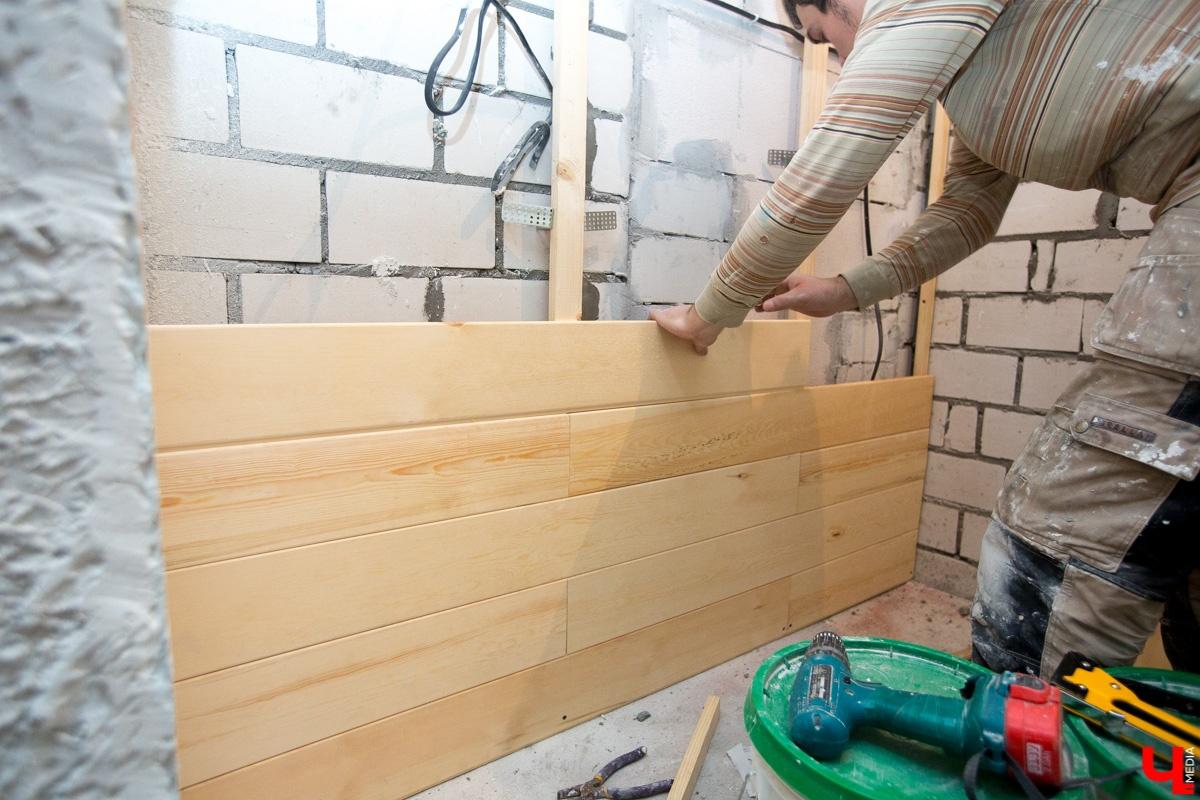 Монтаж вагонки: 110 фото пошаговой инструкции обшивки стен своими руками