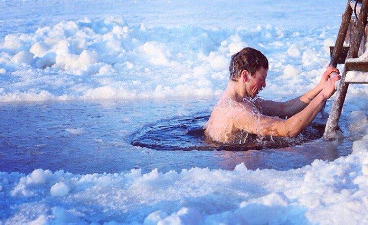 В снег после бани польза и вред