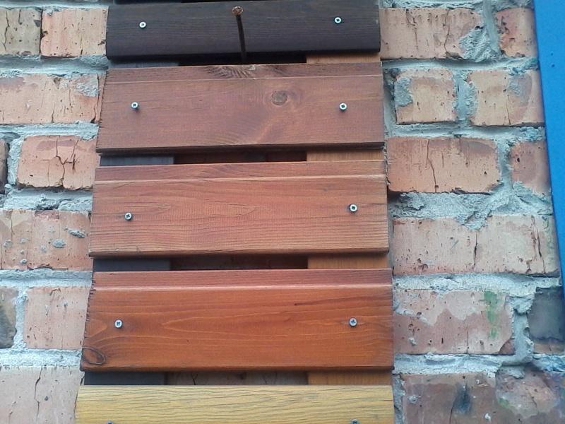 Термическая и химическая модификация древесины