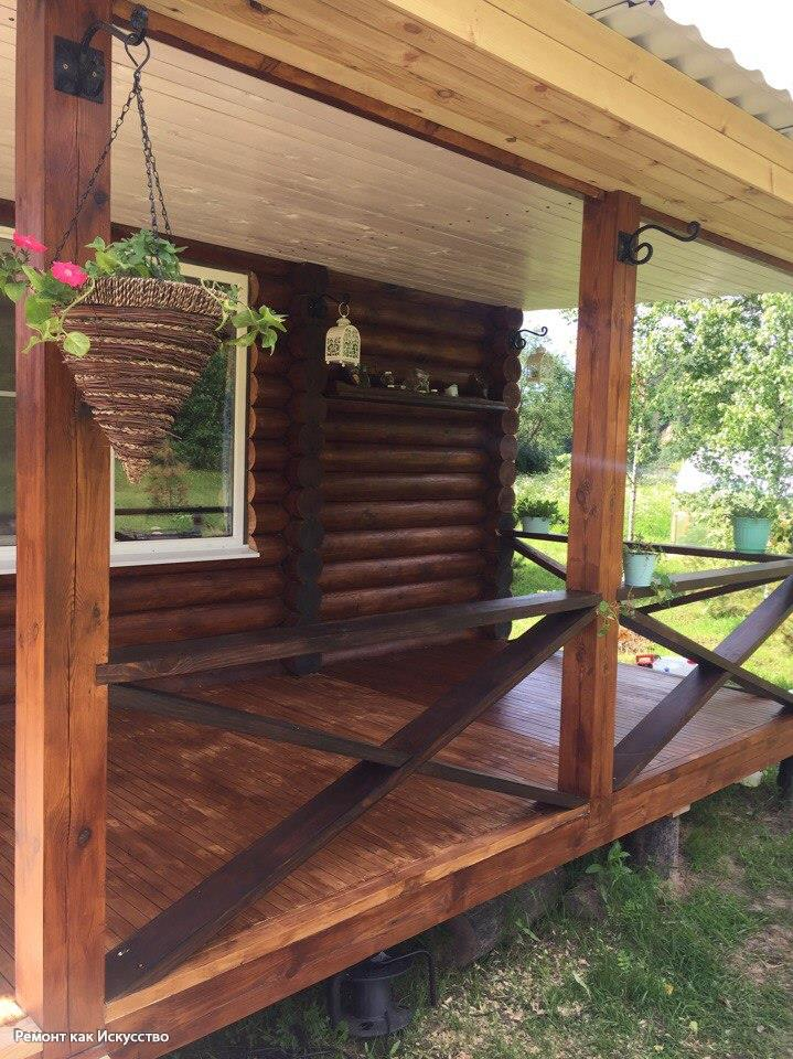 Строим баню с верандой: как построить строение с нуля + как пристроить веранду к готовой бане