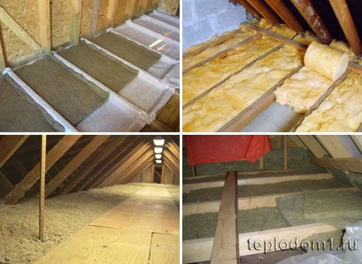 Как утеплить потолок в бане: утепление с холодной крышей, чем лучше, как правильно, какой утеплитель лучше, теплоизоляция своими руками на чердак