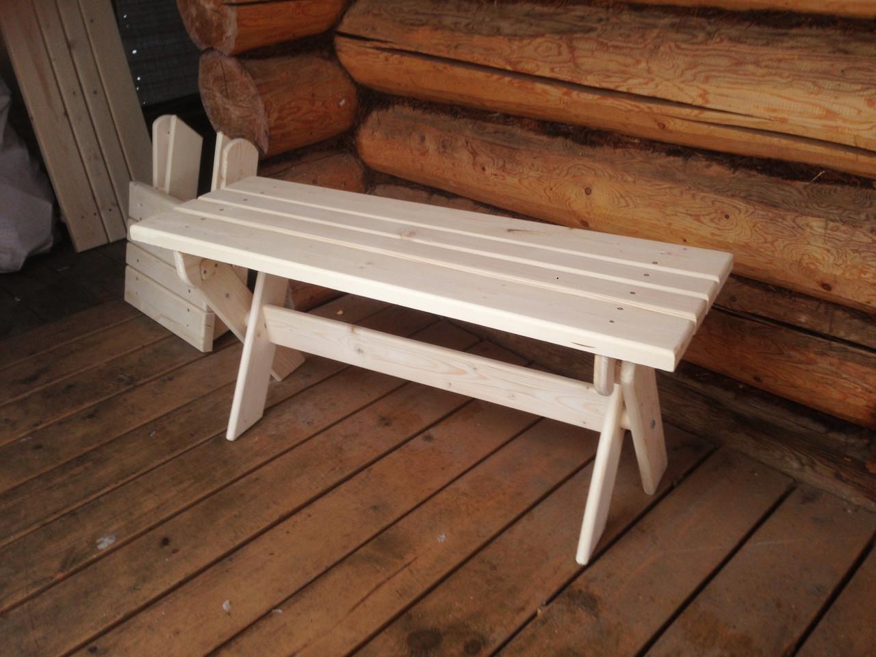 Делаем скамейку для бани самостоятельно