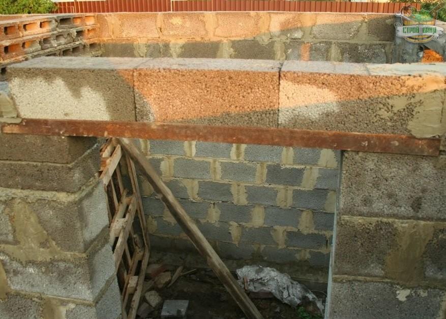 Строительство и отделка бани из керамзитобетона