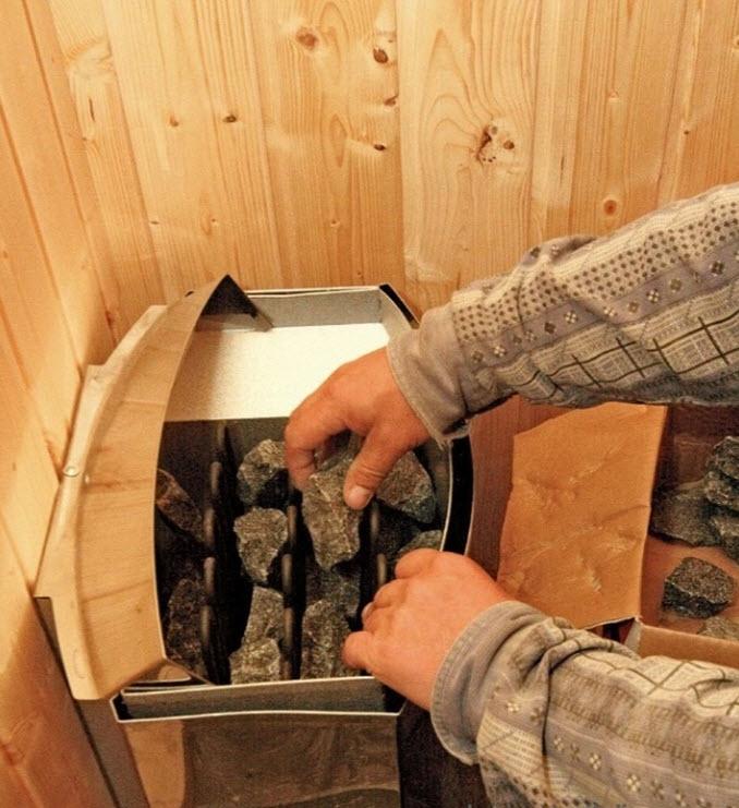 Электропечи для бани и сауны подводные камни установки | отопление дома и квартиры