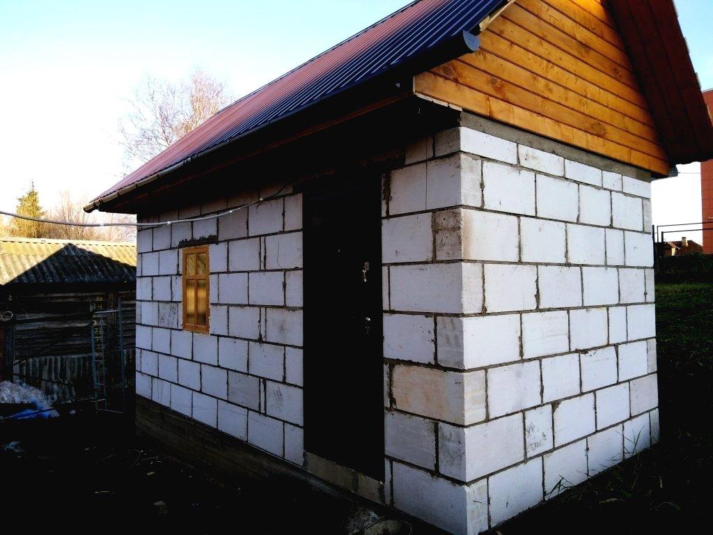 Баня из газобетона: постройка своими руками