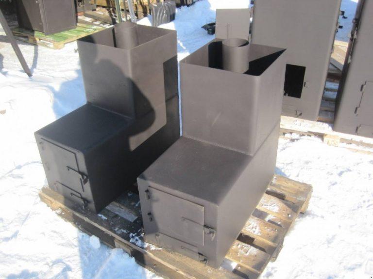 Делаем банную печь из трубы: проекты и инструкция по постройке