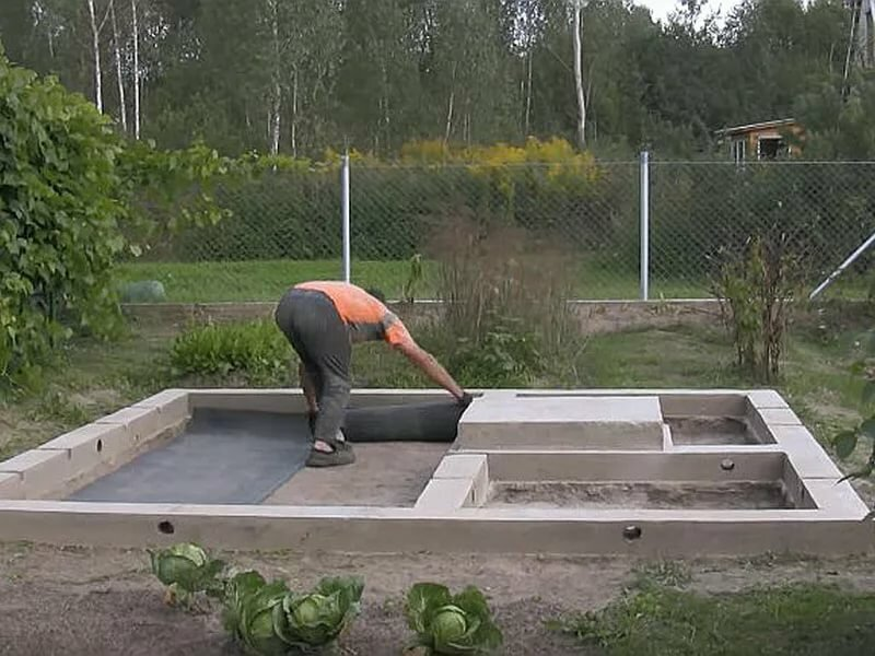 Фундамент под баню своими руками - инструкция, узнай!