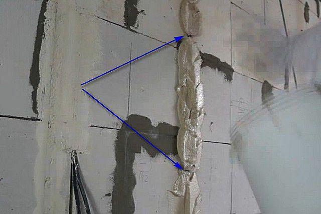 Установка маяков для штукатурки стен: как выставить, как выставлять и  установить с помощью лазерного уровня