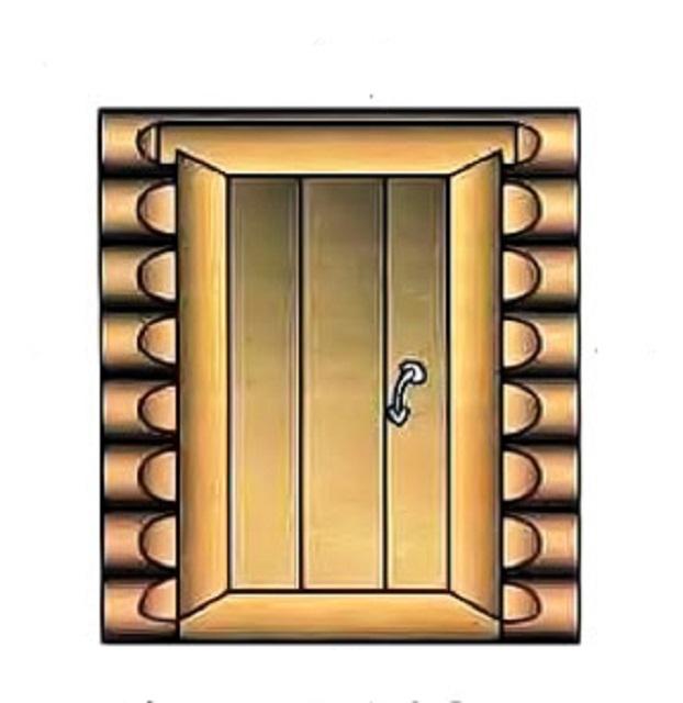 Как установить дверь в парную своими руками