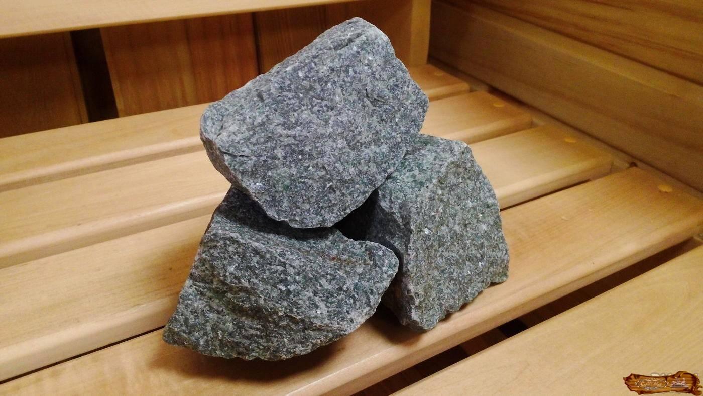 Дунит — камень для бани и сауны