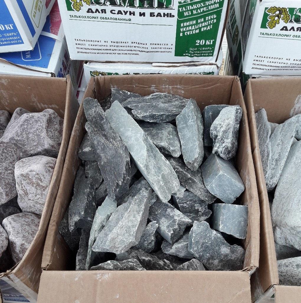 Описание камня талькохлорит