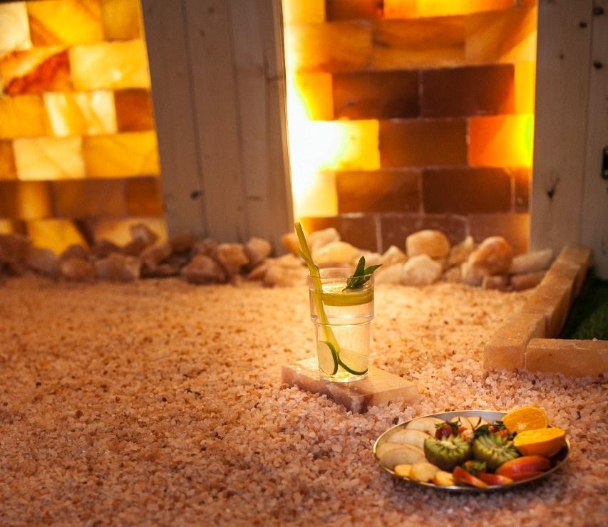 Как сделать подсветку гималайской соли в сауне? | saunaflame.ru