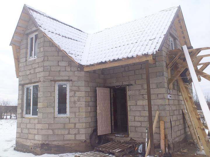 Строительство бани из блоков своими руками с пошаговой инструкцией
