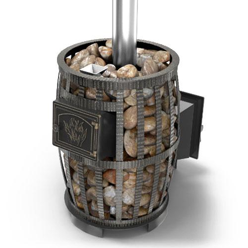 Чугунная печь в баню с закрытой каменкой: как устроена, варианты