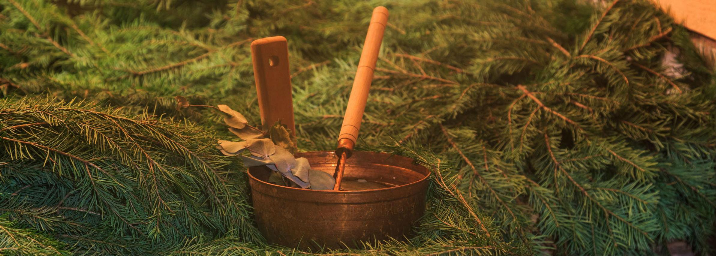 Можжевеловый веник для бани и его польза