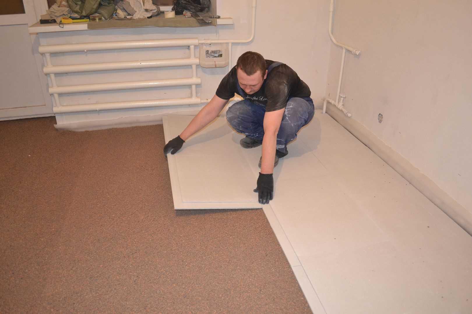 Технология и нюансы укладки гвл на пол под плитку