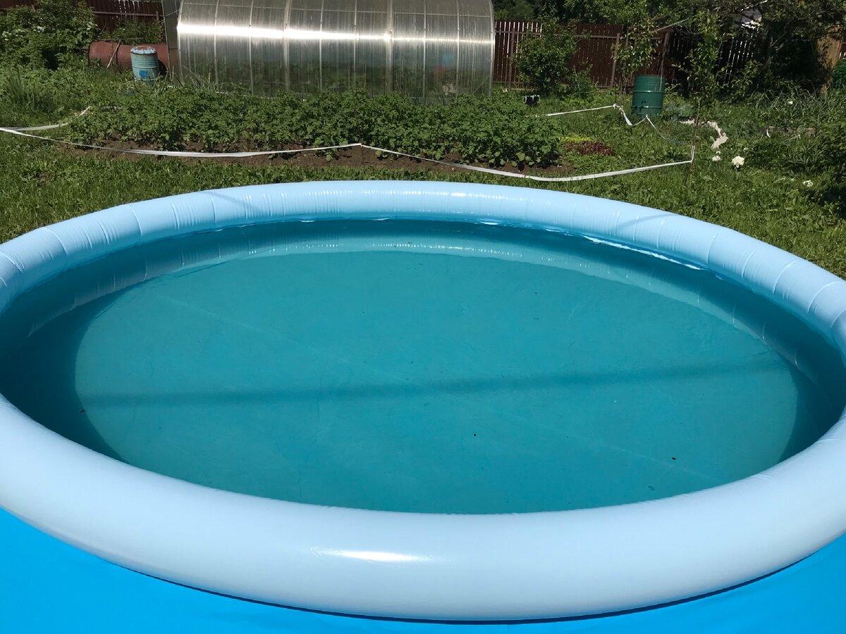 Какой бассейн лучше: каркасный или надувной: отзывы