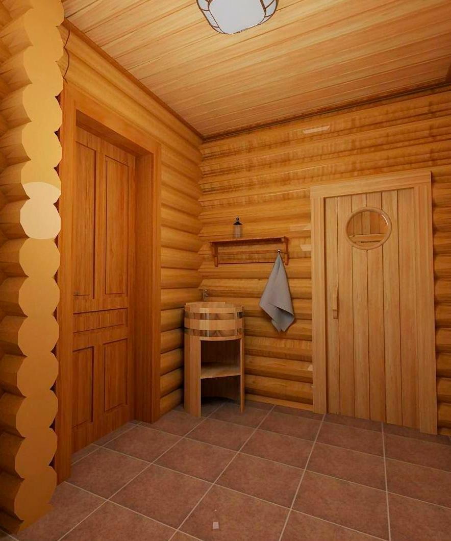 Блок хаус для внутренней отделки: разновидности и технология