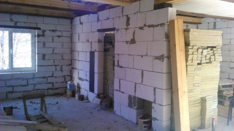 Баня из газобетона своими руками: пошаговая инструкция по строительству от а до я