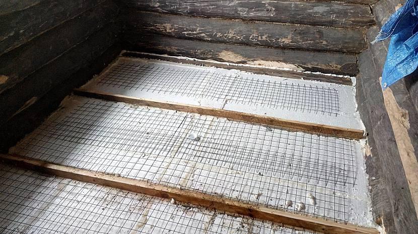 Утепление пола в бане: керамзитом, пеноплексом или по грунту