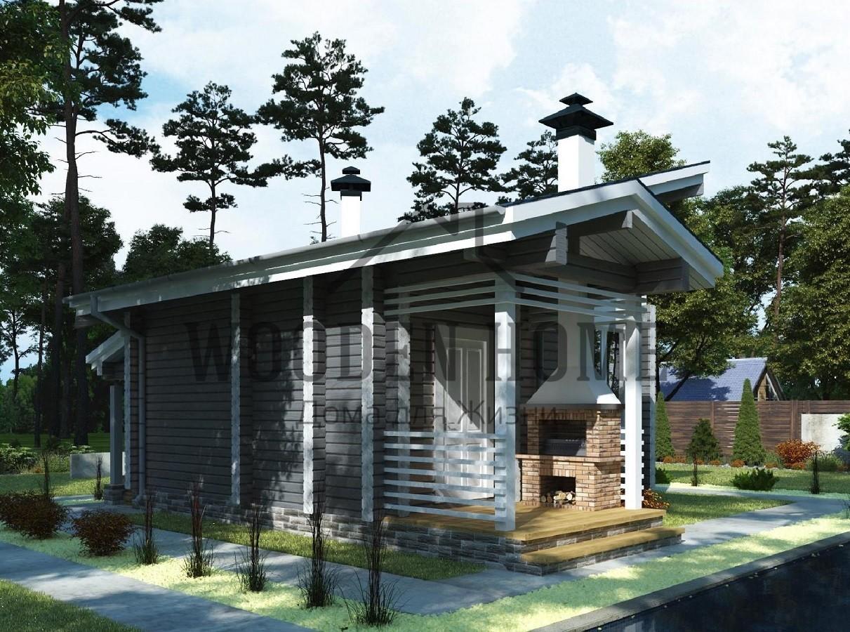 Строительство односкатной крыши для бани своими руками
