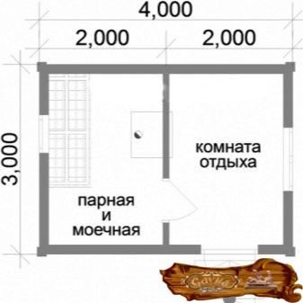 Баня из бруса 150х150 (45 фото): пошаговое изготовление своими руками, сколько надо материала на баню размером 6х4 и 3х4, как самому построить