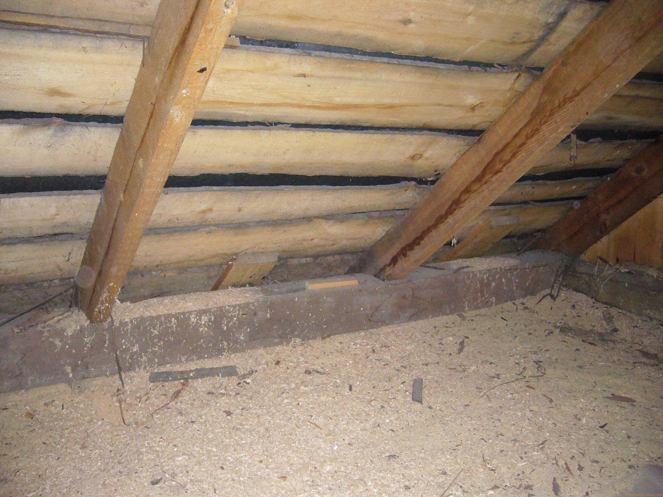 Утепление потолка в бане – эффективно и дешево + видео