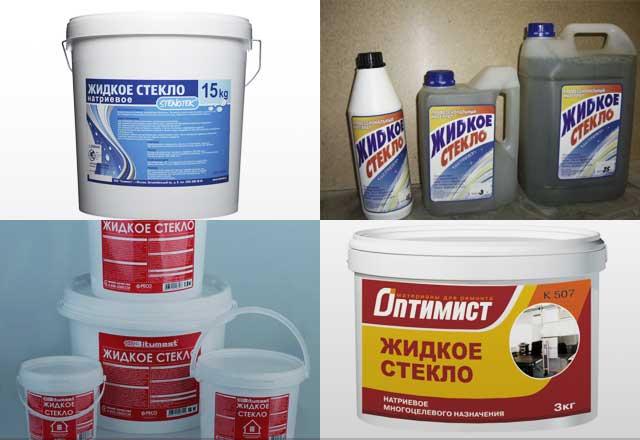 Жидкое стекло — состав, свойства и применение.
