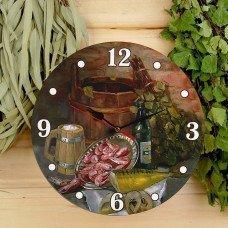 Часы в бане— нужный и полезный атрибут