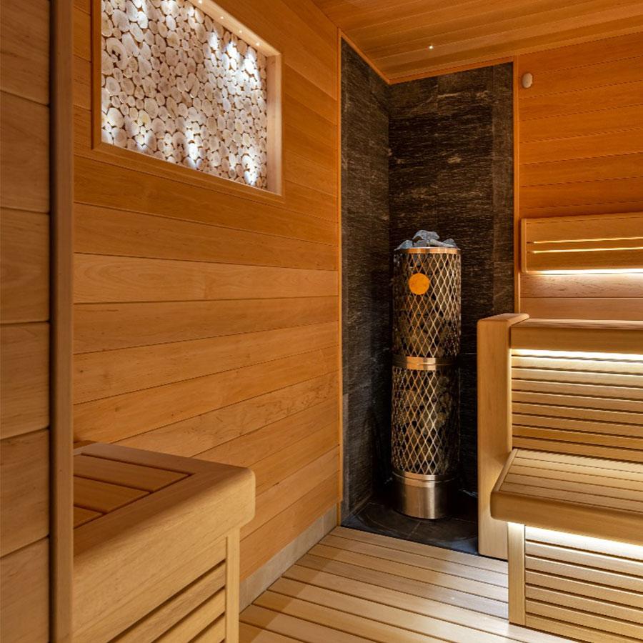 Оптоволоконное освещение бани, сауны, хаммам