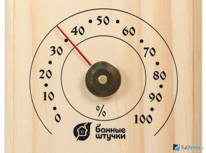 Как выбрать термометр в баню