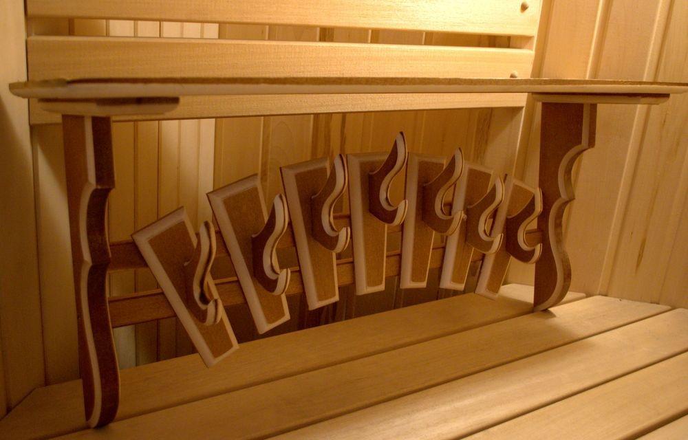 Вешалка в баню [из дерева своими руками]: изготовление