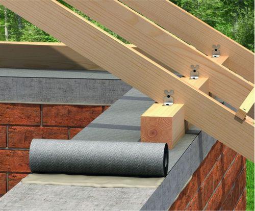 Крепление балок перекрытия к стене: методы крепления к различным видам стен, особенности установки балок