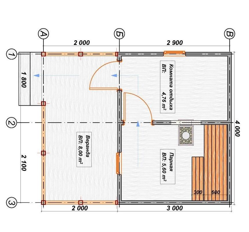 Каркасная баня 3х4 своими руками: проекты с фото - особенности постройки