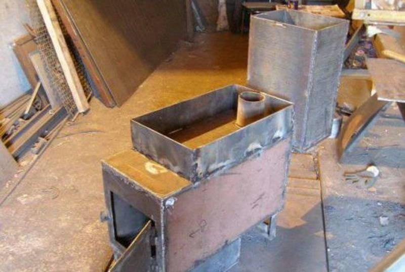Делаем вертикальную печь из трубы для бани своими руками