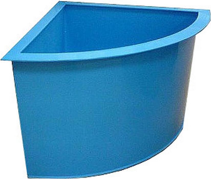 Пластиковые купели: угловые из полипропилена для бани и круглые с глубиной 2 метра для сауны, другие модели