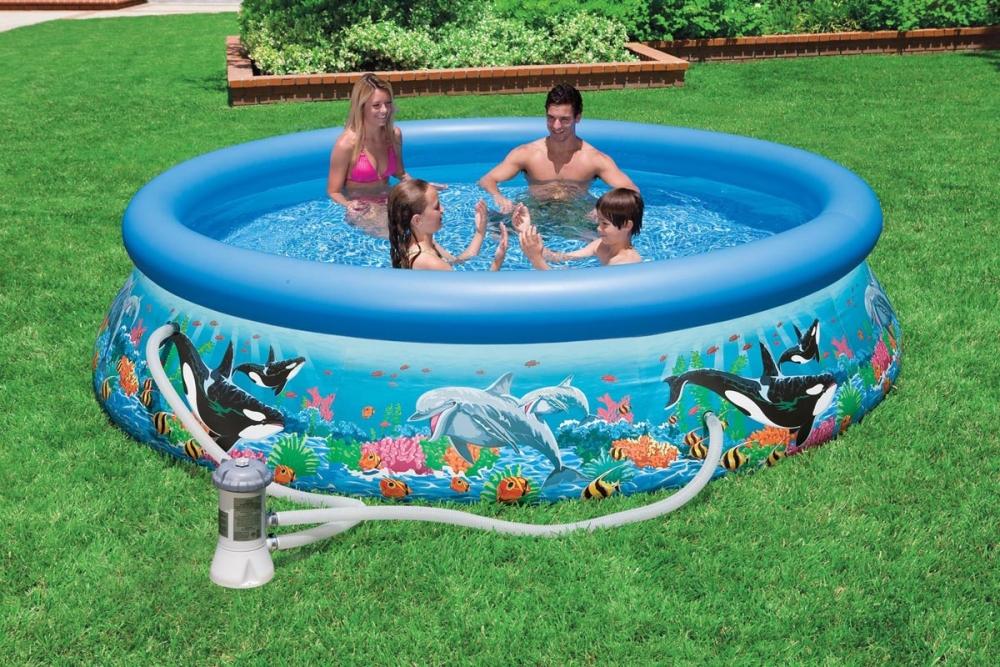 Какой бассейн лучше — надувной или каркасный? выбираем модель