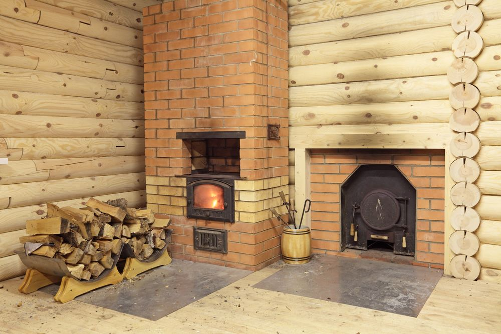 Кирпичная печь для бани — выбор кирпича и разбор выкладывания порядовки