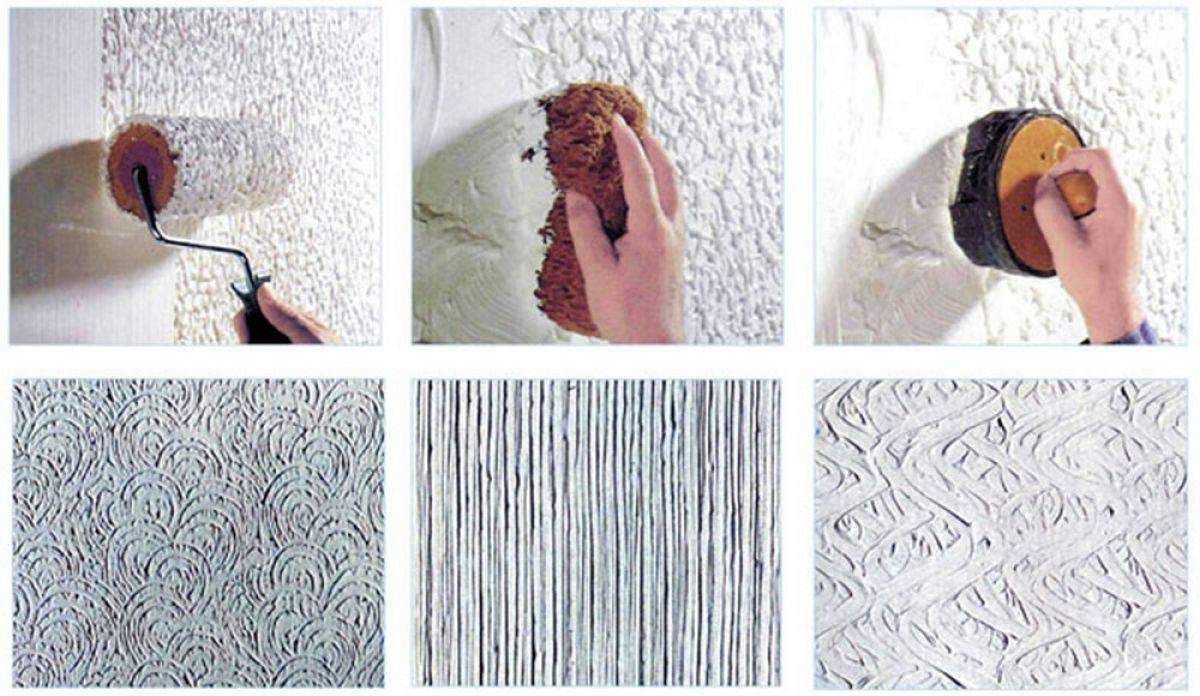 Технология нанесения декоративной штукатурки с фото и видео
