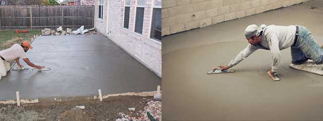 Как железнить бетонный пол цементом | самоделки на все случаи жизни - notperfect.ru