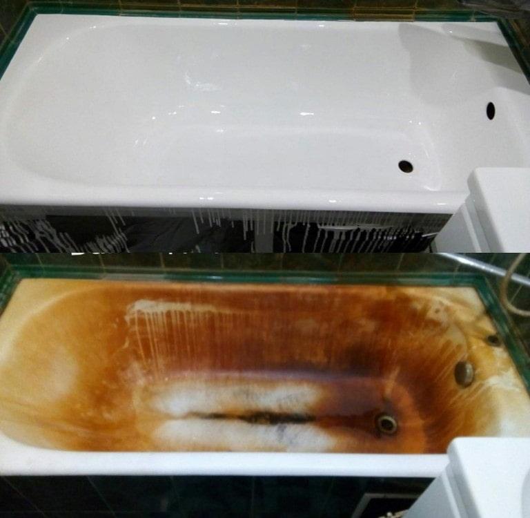 Реставрация ванны жидким акрилом – быстрый и недорогой метод