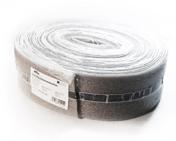 Демпферная лента для стяжки: применение