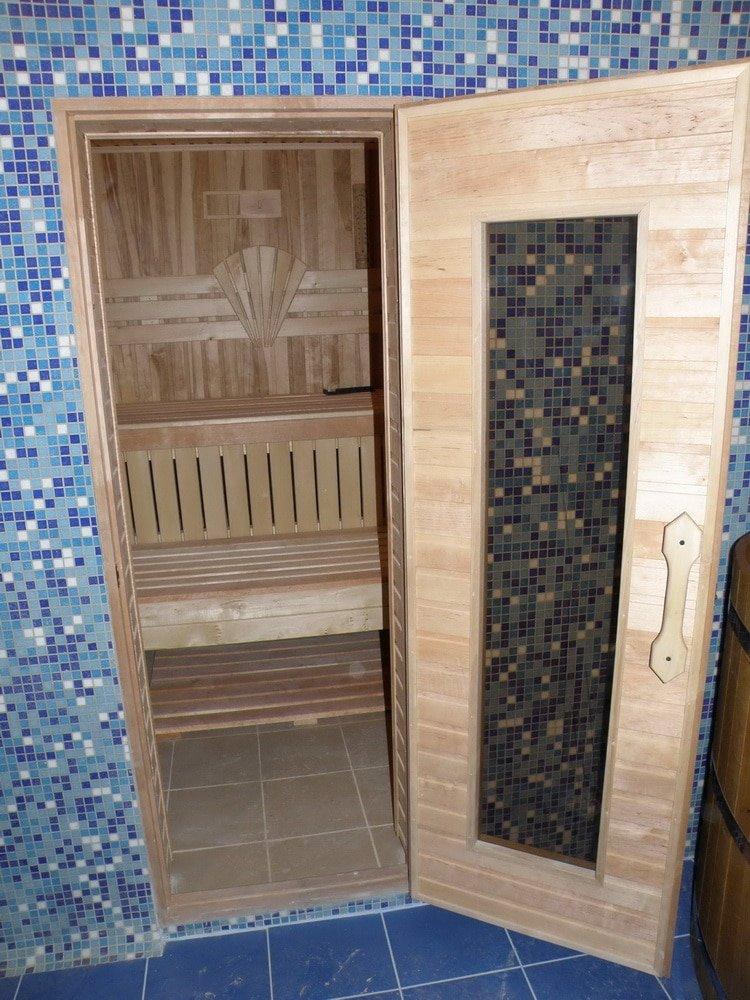 Размеры дверей для бани и сауны - выбираем правильно