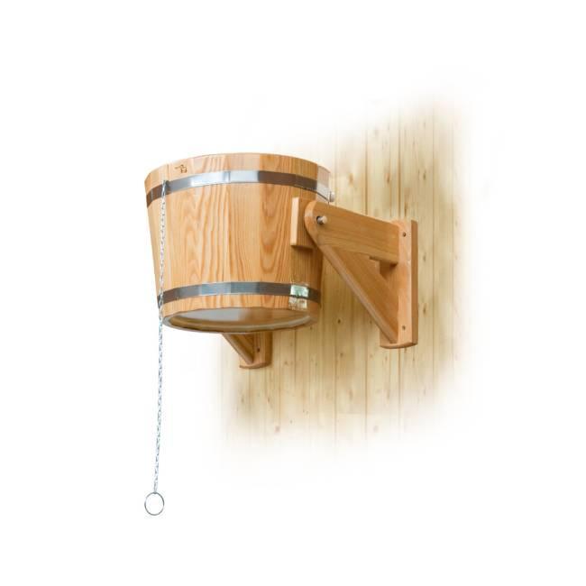 Обливное устройство для бани и сауны — рассказываем вопрос