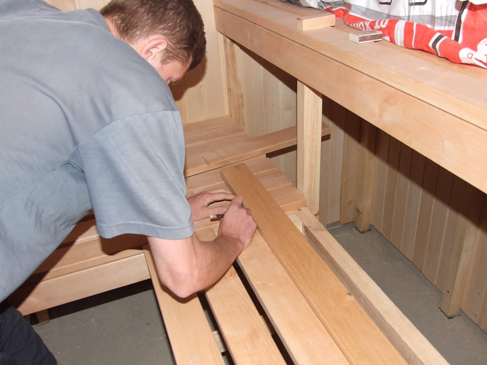 Чем крепить вагонку к потолку в бане и как обшить: отделка и установка, обшивка своими руками