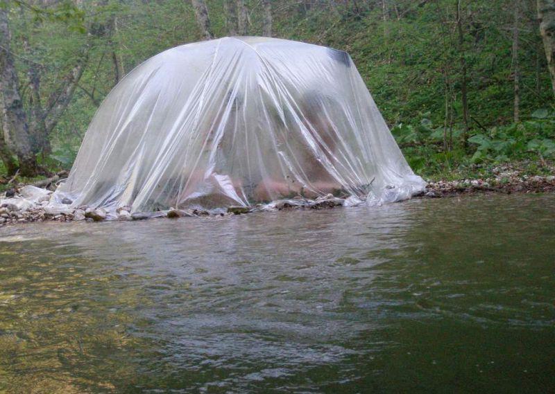 Для чего нужна походная баня? как соорудить баню на природе своими руками +фото и видео