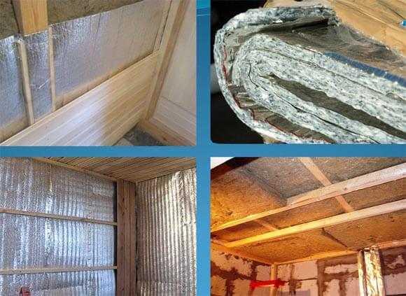 Утепление потолков бани - видео и необходимые материалы для утепления своими руками