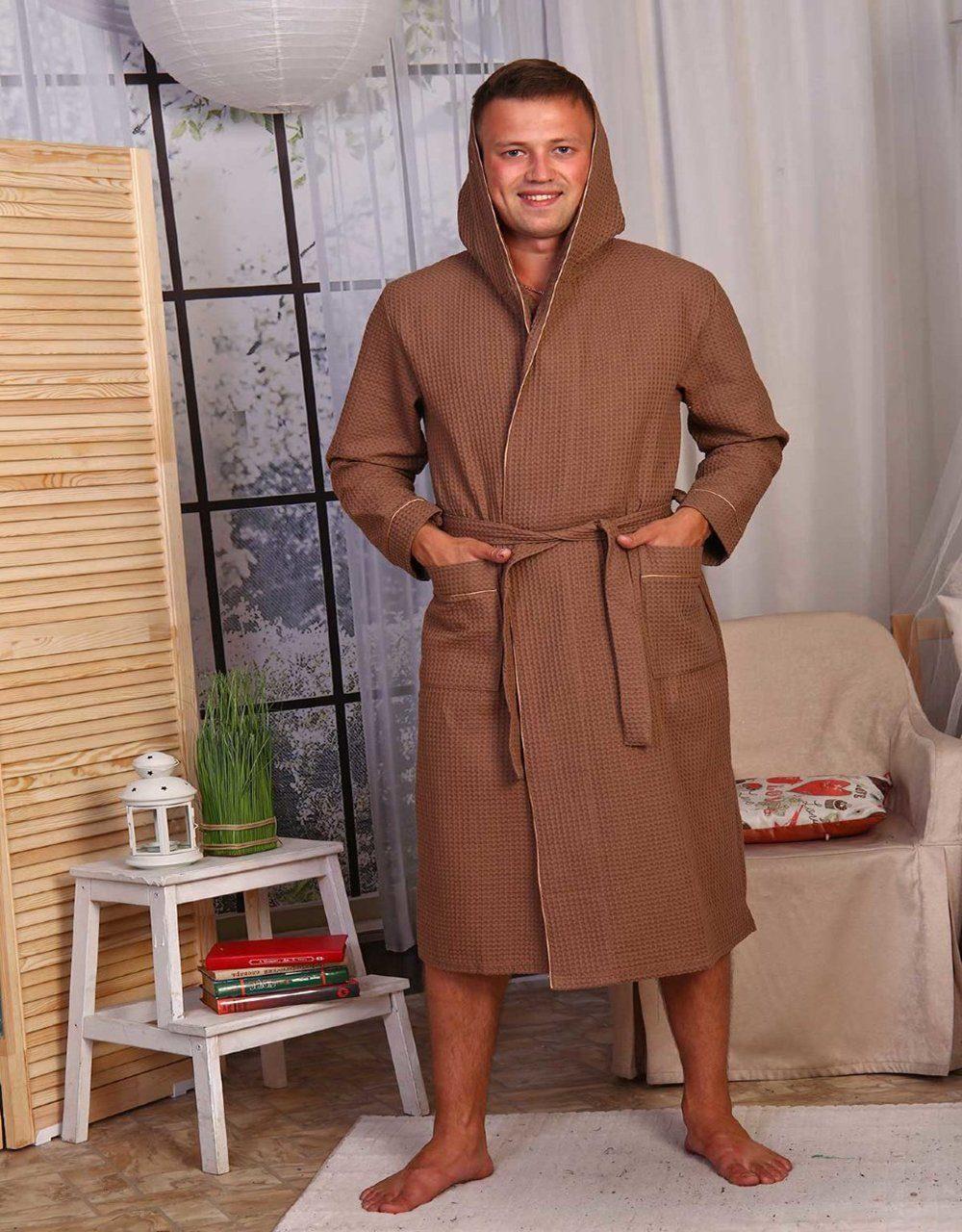 Халат вафельный (50 фото): женский, для бани, для сауны, с капюшоном, для гостиниц, отзывы, из бамбука