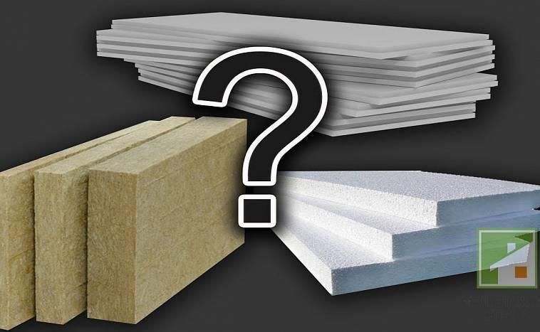 Что лучше: каменная вата или пенопласт и чем утеплить фасад